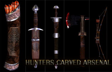 Hunters Carved Arsenal