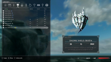 frozen shield in inventory