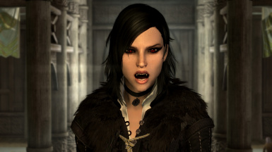 Fangs and Eyes - A Vampire Appearance Mod