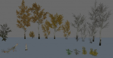 Cuttable Trees - Aspen and shrubs