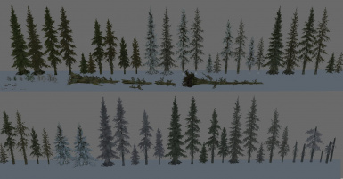 Cuttable Trees - Pines