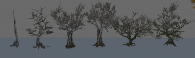 Cuttable Trees - reach and tundre tree