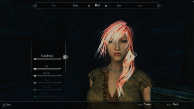 Lightning (FF13) as a human preset