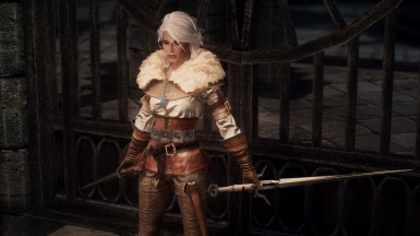 Ciri's Outfit (The Witcher 3) SE UNP-CBBE