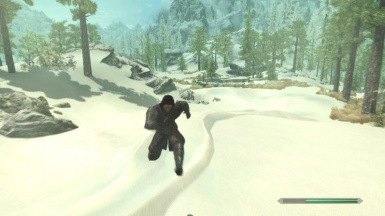 Light Foot - Jumping Animation SSE