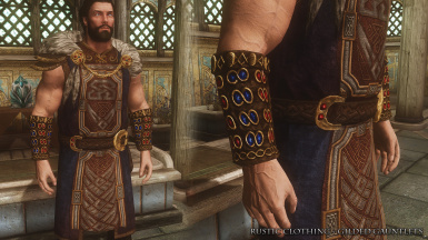 RC Gilded Gauntlets Male
