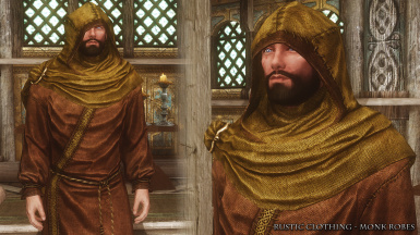 RC Monk Hooded Robes