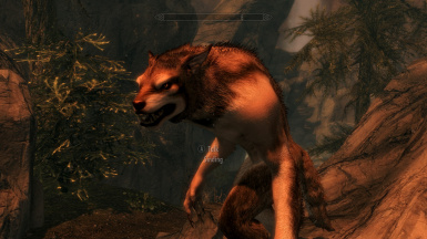 Diverse Werewolves Collection SE at Skyrim Special Edition