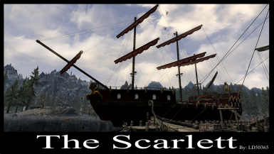 The Scarlett - A Buildable Ship (SE)