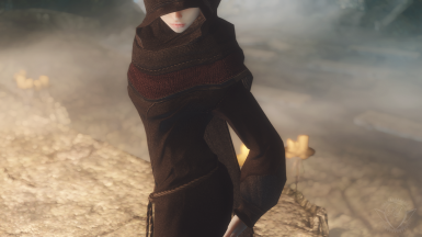 Lind's Black Robes Revamp - Texture Replacer