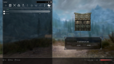 Farmhouse Inventory