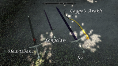 Four swords from initial mod release--Ice has been updated since