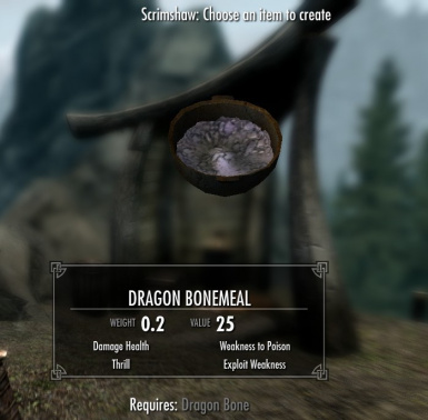 New Ingredient - Dragon Bonemeal