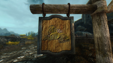 Stable Sign - Outside Whiterun