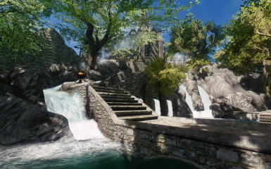 Paradise City for Vanilla Skyrim -- Great Trees for Cities SE