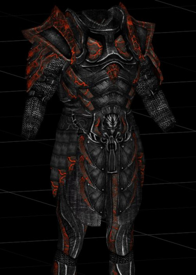 Molten Glass Armor And Weapons At Skyrim Special Edition Nexus