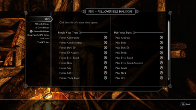 Relationship Dialogue Overhaul - RDO SE at Skyrim Special Edition