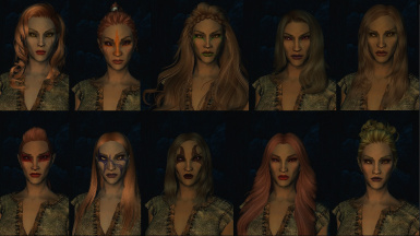 Wood Elf Female