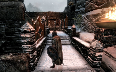 Windhelm Docks Pathways 08