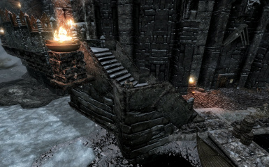 Windhelm Docks Pathways 11