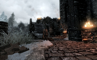 Windhelm Docks Pathways 12