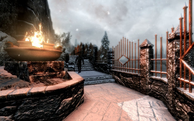 Windhelm Docks Pathways 14