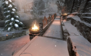 Windhelm Docks Pathways 17