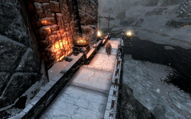Windhelm Docks Pathways 20