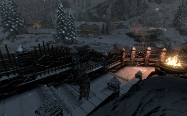 Windhelm Docks Pathways 22