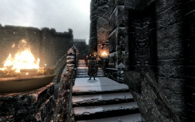 Windhelm Docks Pathways 10