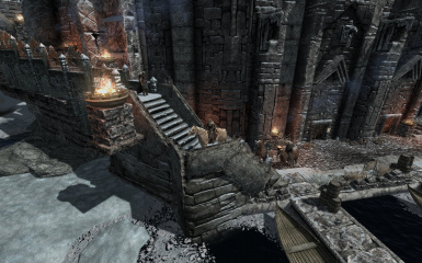 Windhelm Docks Pathways 25