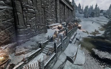 Windhelm Docks Pathways 27