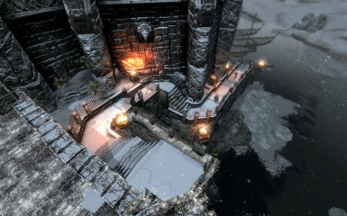Windhelm Docks Pathways 05