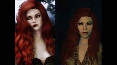 Izabella as a Preset (Kalilies' redhaired girl)