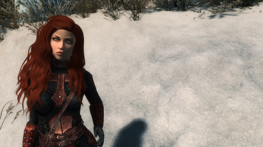 Izabella as a Preset (Kalilies' redhaired girl) at Skyrim