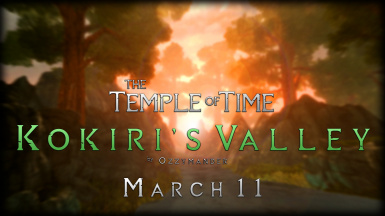 The Temple of Time Kokiri's Valley SE
