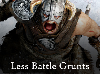 Less Combat Grunts and Yelling