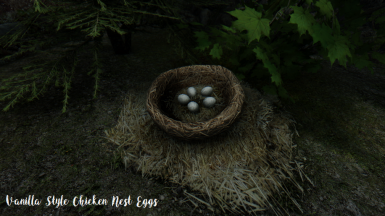 Vanilla Style Chicken Nest Eggs
