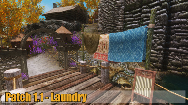 Patch 1 dot 1 Laundry