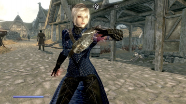 Blue Blood Witch Armor