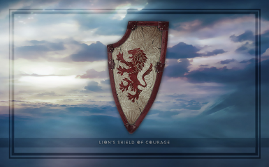 Lions Shield of Courage