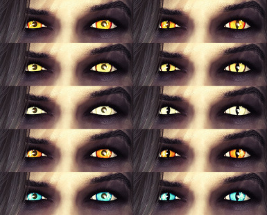 Real Witcher Eyes
