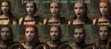 Player Preset and Colours Overhaul