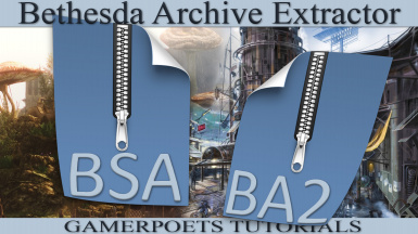 B.A.E. - Bethesda Archive Extractor - Tutorial