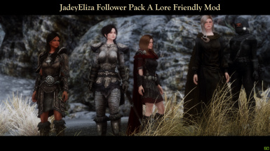 JadeyEliza Follower Pack - A Lore Friendly Mod
