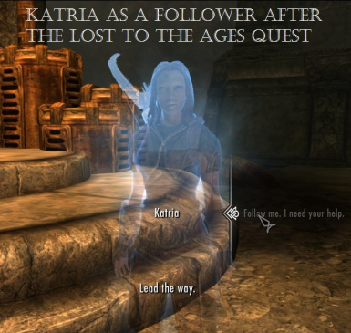 Katria Follower from Lost to the Ages - Converted by