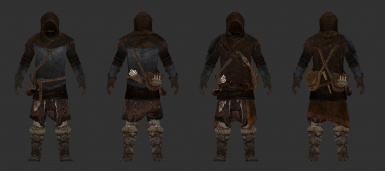 Wanderer Cuirass by Frank and Cabal for SSE