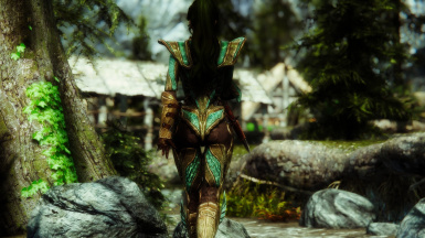 Truly Light Glass Armor - aMidianBorn - photographer snelss0