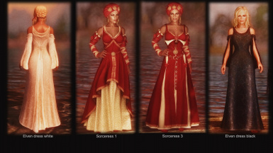 Sorceress and Elven dresses