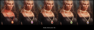 Pearl Necklace W3